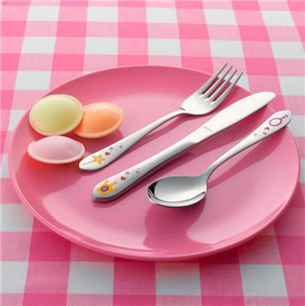 PRINCESSE Set de 3 couverts Enfant en Inox Amefa