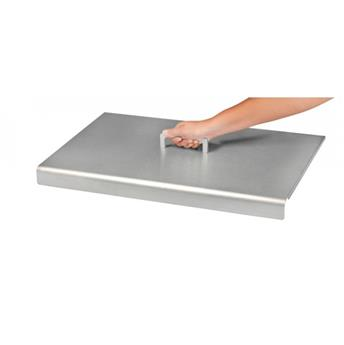 CAPOT Inox pour plancha DESIGN SIMPLE KRAMPOUZ