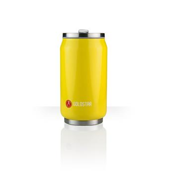 Can´it Mug isotherme canette 280 ml LES ARTISTES Jaune