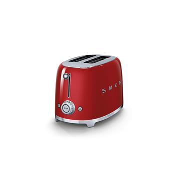 Toaster 2 tranches Grille pain Années 50 SMEG Rouge