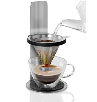 MR BREW Filtre café inox sur potence réglable Slow Coffee AdHoc