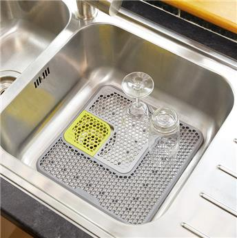 Sink Protector Tapis Fond d´évier modulable ajustable KitchenCraft