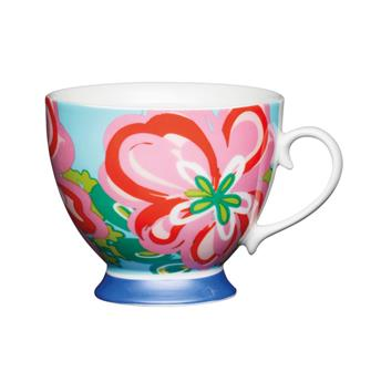 Tasse porcelaine 400 ml KitchenCraft Floral