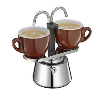Cafetière Italienne Induction 2 Tasses expresso Cilio
