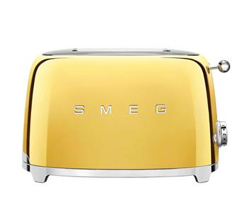 Toaster 2 tranches Grille pain Années 50 SMEG Or
