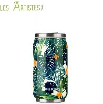 Pull Can´it Mug isotherme canette 280 ml LES ARTISTES Hawaii Fleurs