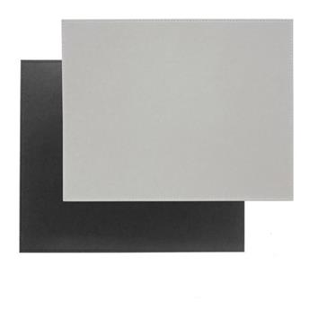 Set de Table FreeForm 40 x 30  GRIS NOIR